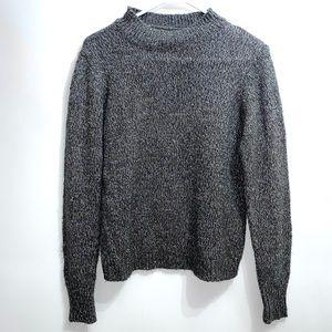 Vero Moda gray high neck gray sweater 258B7